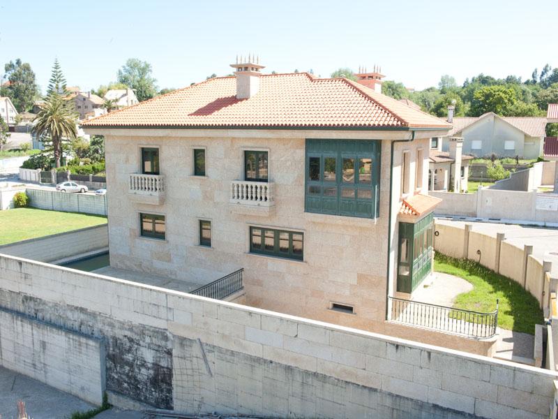 construcciones en vigo - construcción de viviendas unifamiliares chalets